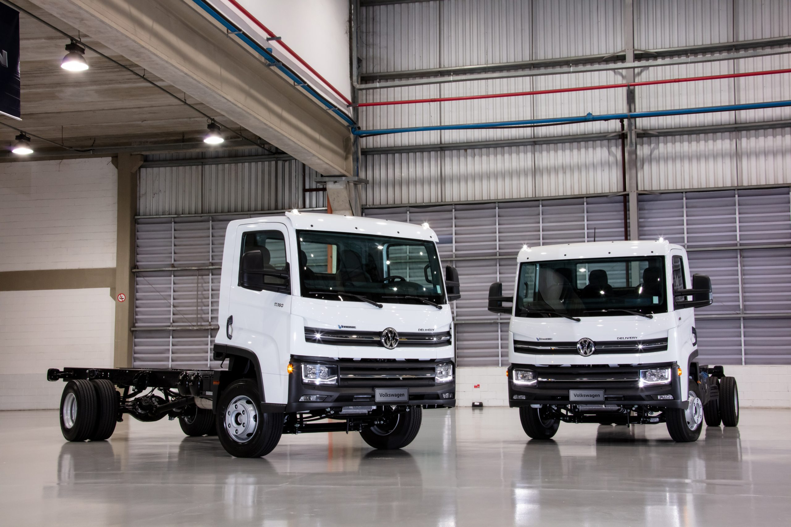 Família Volkswagen Delivery evolui com transmissão automatizada